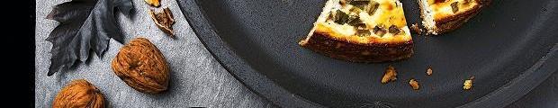 Cheescake roquefort et poires